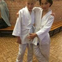 Photo taken at judo academy nijmegen by Ivan B. on 11/14/2014