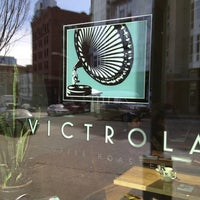 Photo taken at Victrola Cafe and Roastery by Linnea L. on 3/25/2013