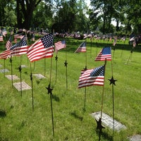 Photo taken at Lakewood Cemetery by Angie S. on 5/29/2012