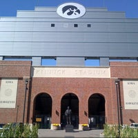 Photo taken at Kinnick Stadium by Dick P. on 9/25/2012
