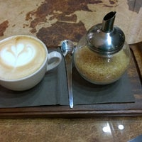 Photo taken at Coffee Map Roastery by Octav M. on 1/15/2014