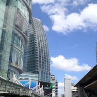 Photo taken at Asok Intersection by Jay on 9/19/2012