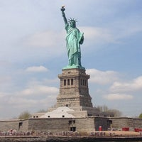 Photo taken at Statue of Liberty by Krevet on 5/7/2013