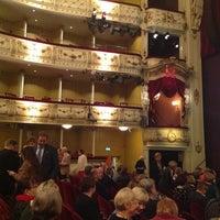 Photo taken at Svenska Teatern by Rasmus S. on 12/13/2012