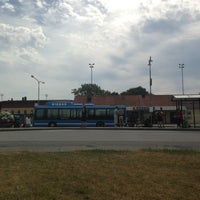 Photo taken at Visby Busstation by Rasmus S. on 7/27/2013