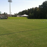 Photo taken at WakeMed Soccer Park by Mary S. on 10/20/2012