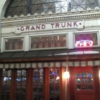 Photo taken at Grand Trunk Pub by Jim C. on 1/6/2013