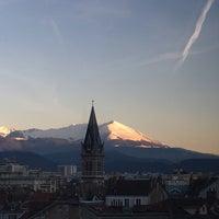 Photo taken at Hipark Residences Grenoble by Rafael S. on 1/24/2016