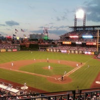 Photo taken at Citizens Bank Park by Ed A. on 8/5/2013