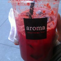 Photo taken at Aroma Espresso Bar by D B. on 10/11/2012