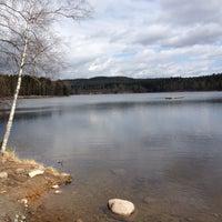 Photo taken at Sognsvann by Vegard K. on 5/11/2013