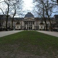 Photo taken at Paleizenplein / Place des Palais by Vegard K. on 2/2/2013