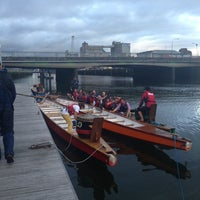 Photo taken at Lapps Quay Pontoon by Cormac O. on 9/12/2013