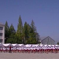 Photo taken at 栗東市立大宝小学校 by Minoru O. on 9/21/2013