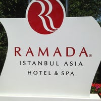 Photo taken at Ramada Istanbul Asia by Sascha R. on 6/25/2013