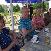 Photo taken at Café Himmelblau by Sascha R. on 6/28/2015