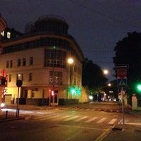Photo taken at Большой Лёвшинский переулок by Alexander I. on 8/14/2014