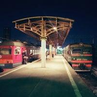 Photo taken at Savyolovsky Rail Terminal by Alexander I. on 2/24/2013