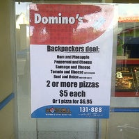 Photo taken at Domino's Pizza by SWicart on 4/30/2013