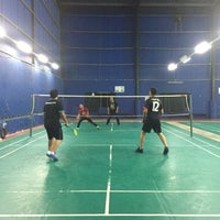Photo taken at Vrox Badminton N Futsal Court by Faies  on 10/25/2016