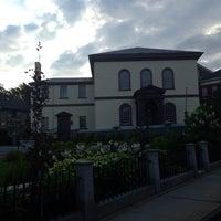 Photo taken at Touro Synagogue by lee u. on 8/23/2013