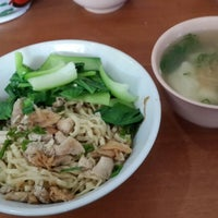 Photo taken at Mie Ayam Mie Le by Sania on 7/3/2013