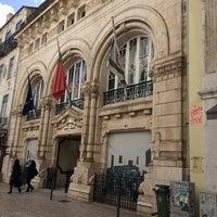 Photo taken at Associacao Comercial de Lisboa by Adriano M. on 2/24/2014