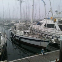 Photo taken at Oeiras Yacht Harbour by Adriano M. on 9/16/2012