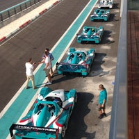 Photo taken at Yas Marina Circuit by Raluca Ioana C. on 12/3/2012