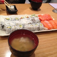 Photo taken at Ai Sushi by Liam Casey M. on 2/1/2014