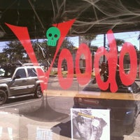 Photo taken at Voodoo Tiki Bar & Lounge by Dominique S. on 10/31/2012