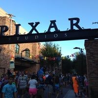 Photo taken at Pixar Place by Claudia P. on 7/8/2013