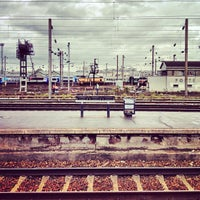Photo taken at Gare SNCF de Clichy Levallois by Renke Y. on 10/7/2012