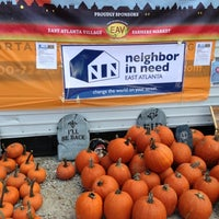 Photo taken at East Atlanta Village Farmers Market by Philip H. on 10/25/2012