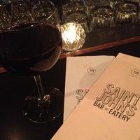 Photo taken at Saint John's Bar & Eatery by Brandy R. on 10/3/2012