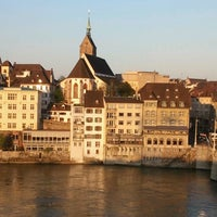 Photo taken at Basel by Charo M. on 5/8/2013