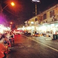 Photo taken at Night Food Stall Street by Ricci C. on 3/22/2013