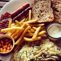 Photo taken at Sakley's Mountain Cafe by Priyam C. on 2/3/2013