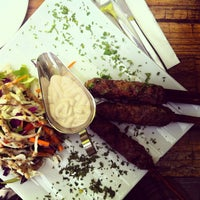 Photo taken at Al-Diyar Restaurant by Nick G. on 8/31/2013