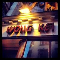 Photo taken at Wong Kei by Shrey P. on 7/13/2013