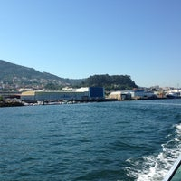 Photo taken at Puerto Sernau by Sergio G. on 8/11/2013