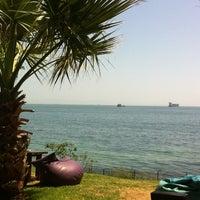 Photo taken at Saklı Deniz by Merve Y. on 5/18/2013