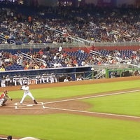 Photo taken at Marlins Park by @MisterHirsch on 7/13/2013