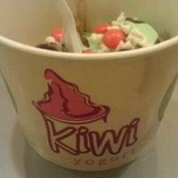 Photo taken at Kiwi Yogurt by Sarah T. on 3/6/2013