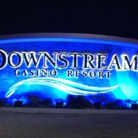 Photo taken at Downstream Casino Resort by Melissa 🐝 on 12/25/2012
