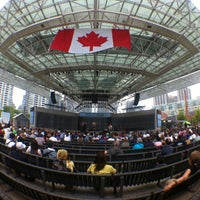 Photo taken at Harbourfront Centre by Jaime H. on 7/1/2013