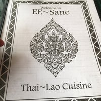 Photo taken at EE-Sane Thai-Lao Cuisine by Chris S. on 2/9/2017