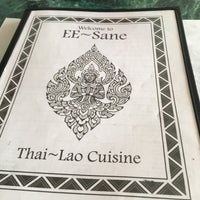 Photo taken at EE-Sane Thai-Lao Cuisine by Chris S. on 4/4/2017