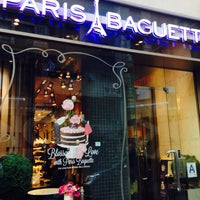 Photo taken at Paris Baguette by Sherry T. on 3/1/2014