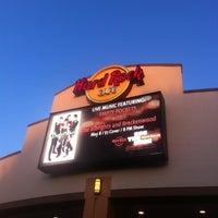 Photo taken at Hard Rock Cafe Niagara Falls USA by Brooke T. on 5/2/2013